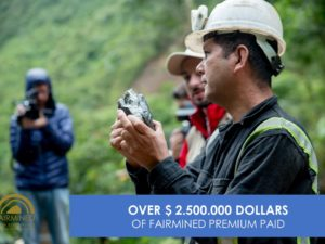 WE HAVE REACHED OVER 2,500,000 DOLLARS IN FAIRMINED PREMIUM