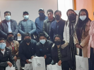 Mining organizations and pallaqueras in Peru are trained to improve their practices